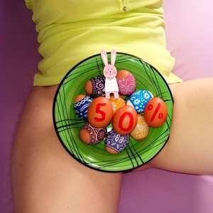 Velikonoční zadeček vyšupaný
